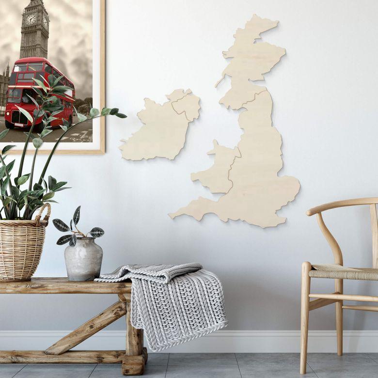 Decoro in legno - Inghilterra ed Irlanda