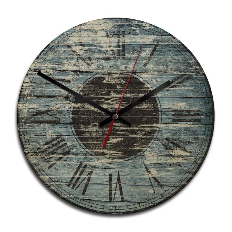 Horloge murale en bois - Vintage 02