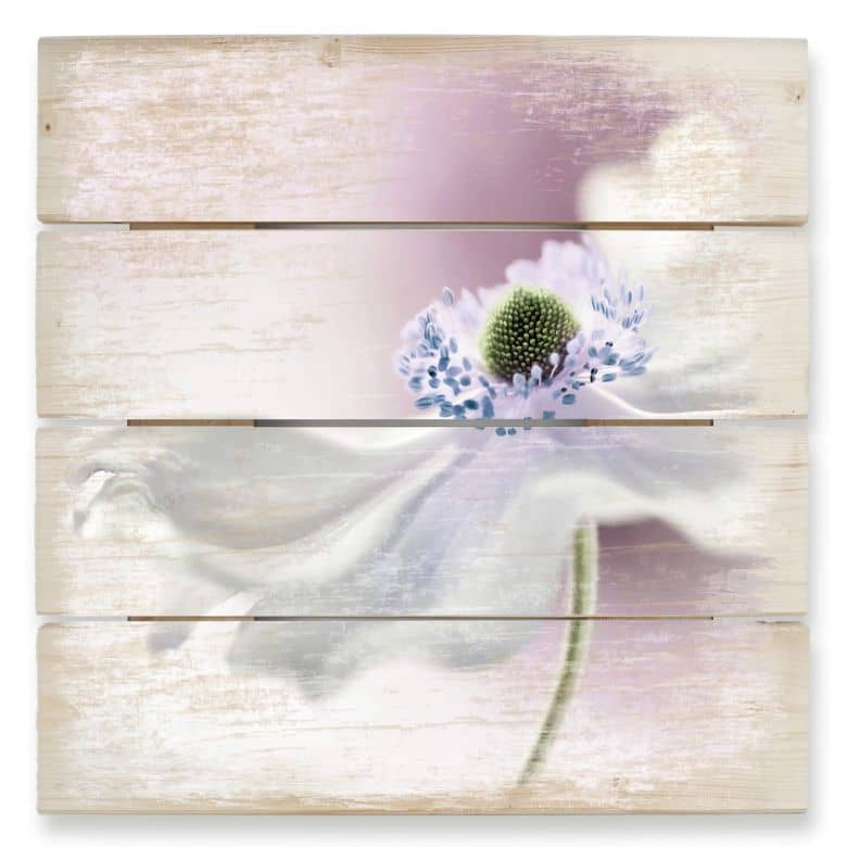 Houten Wanddecoratie Disher - Anemone Breeze