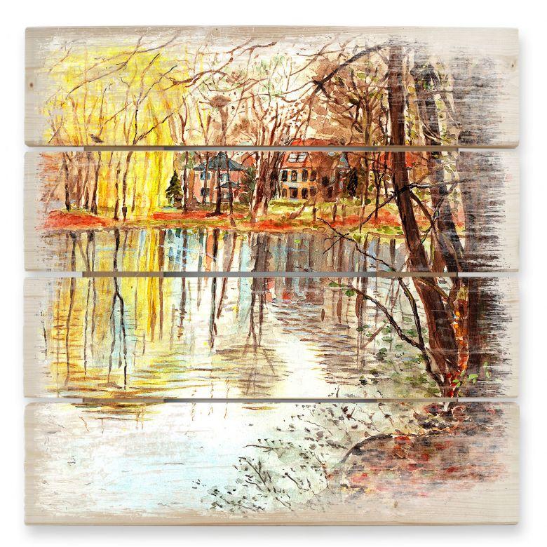 Holzbild Toetzke - Herbstzauber