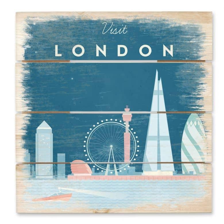 Holzbild Rivers - London