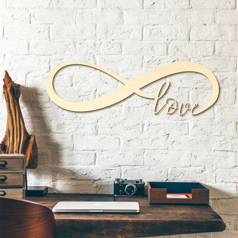 Decorazione in legno - Amore per sempre
