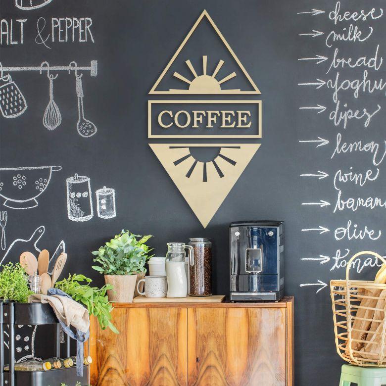 Holzdeko Pappel - Coffee Tag und Nacht (9-teilig)