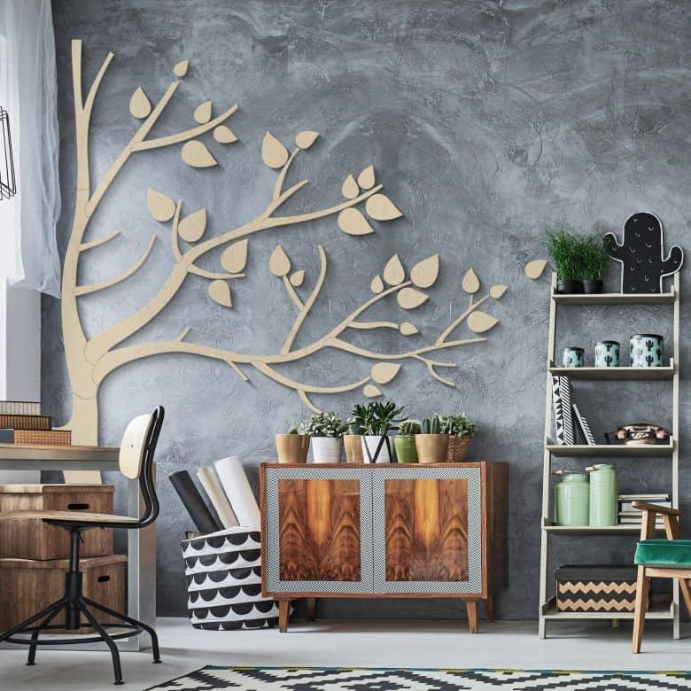 Holzkunst Pappel - XXL Baum