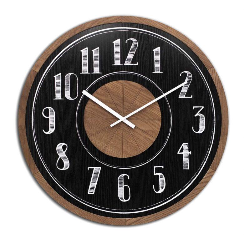 Orologio da parete in MDF - tondo Ø60 cm