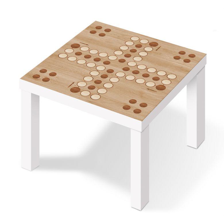 m belfolie f r ikea lack brettspiel wood wall. Black Bedroom Furniture Sets. Home Design Ideas