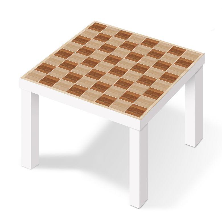 m belfolie f r ikea lack schachmuster wood wall. Black Bedroom Furniture Sets. Home Design Ideas