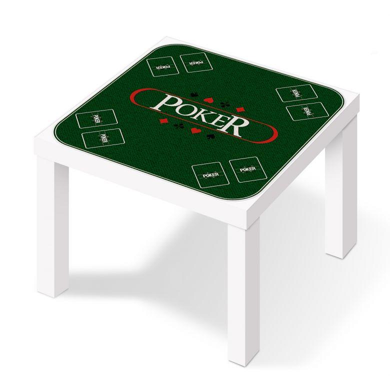 Klebefolie Pokertisch