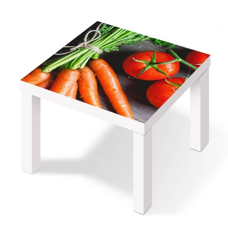 m belfolie f r ikea lack fresh cooking wall. Black Bedroom Furniture Sets. Home Design Ideas