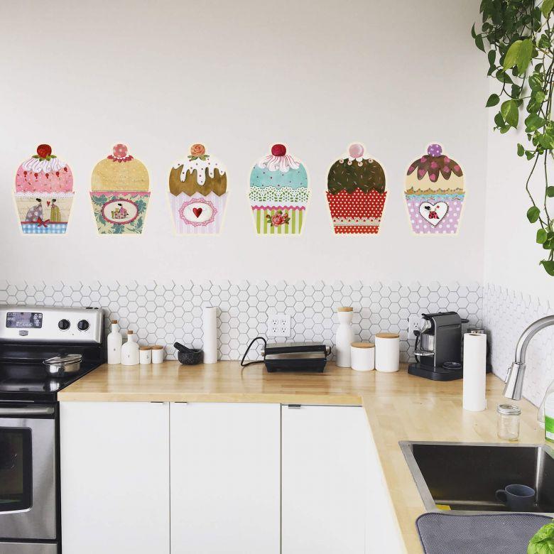 Wall sticker Leffler – Muffins