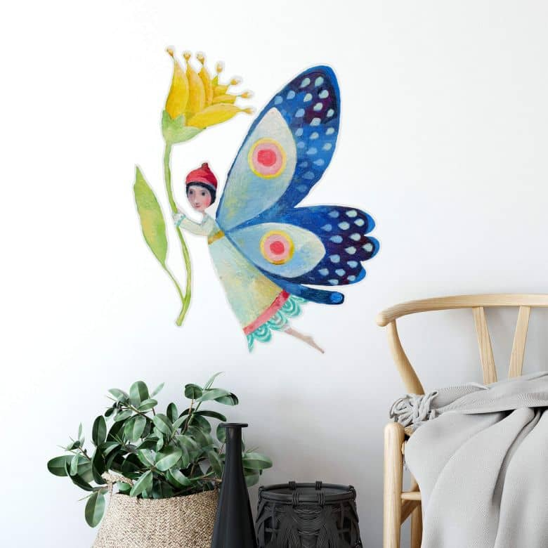 Wall sticker Blanz - Butterfly