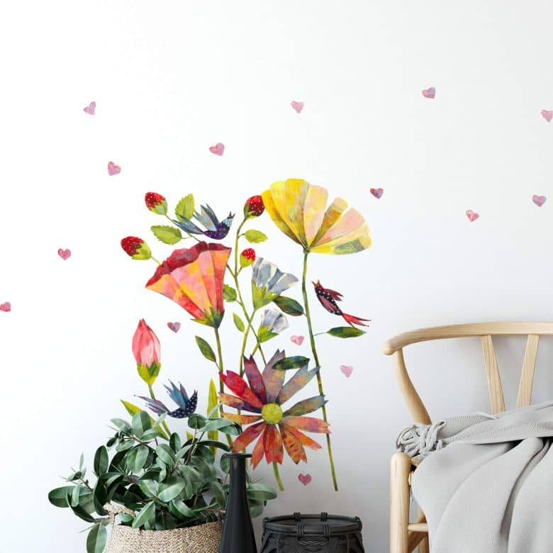 Wall sticker Blanz - Summer Meadow