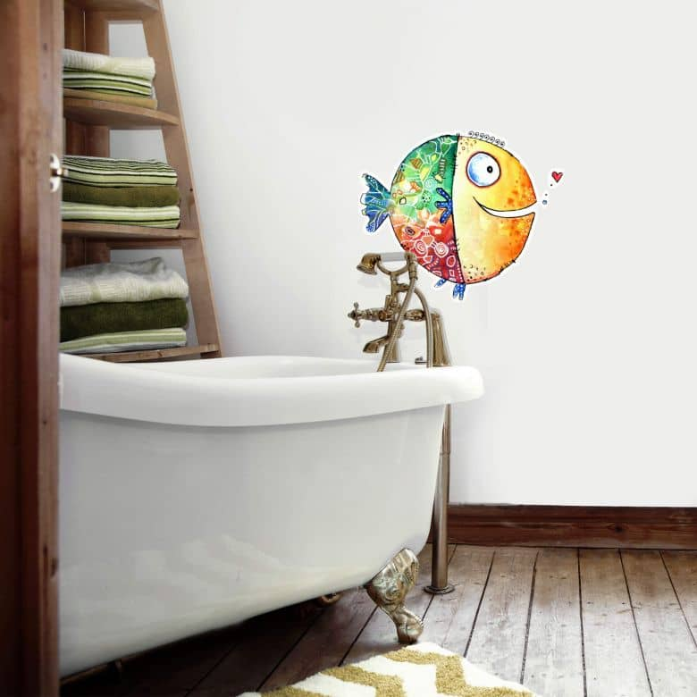 Wall sticker Hagenmeyer – Happy Fish