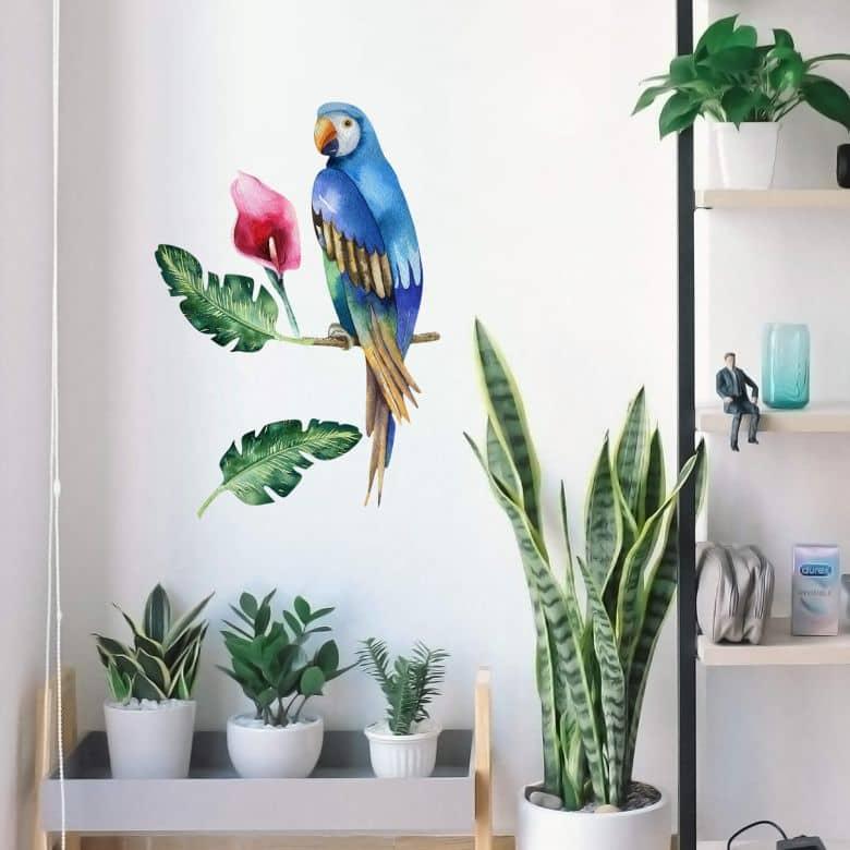Wall sticker Kvilis - Parrot 01