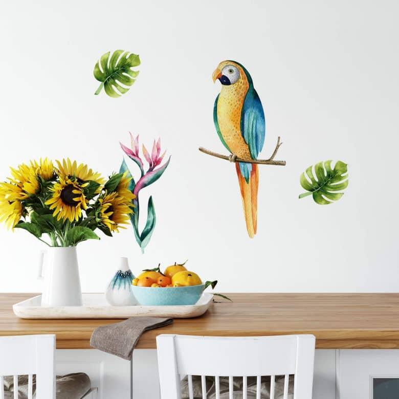 Wall sticker Kvilis - Parrot 03