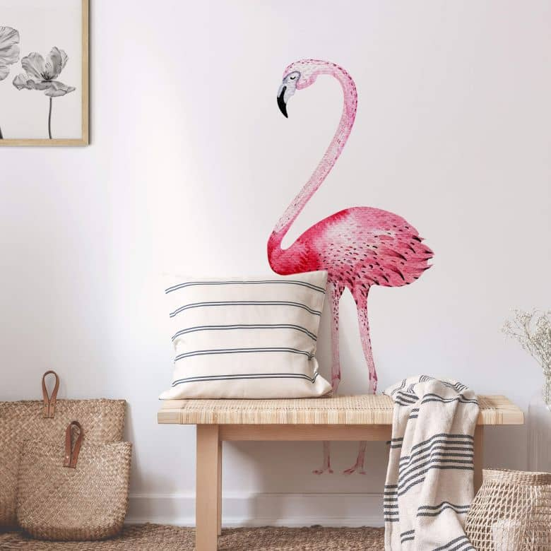 Wall sticker Kvilis – Flamingo 01