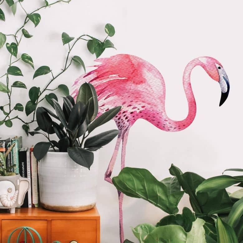 Wall sticker Kvilis – Flamingo 02