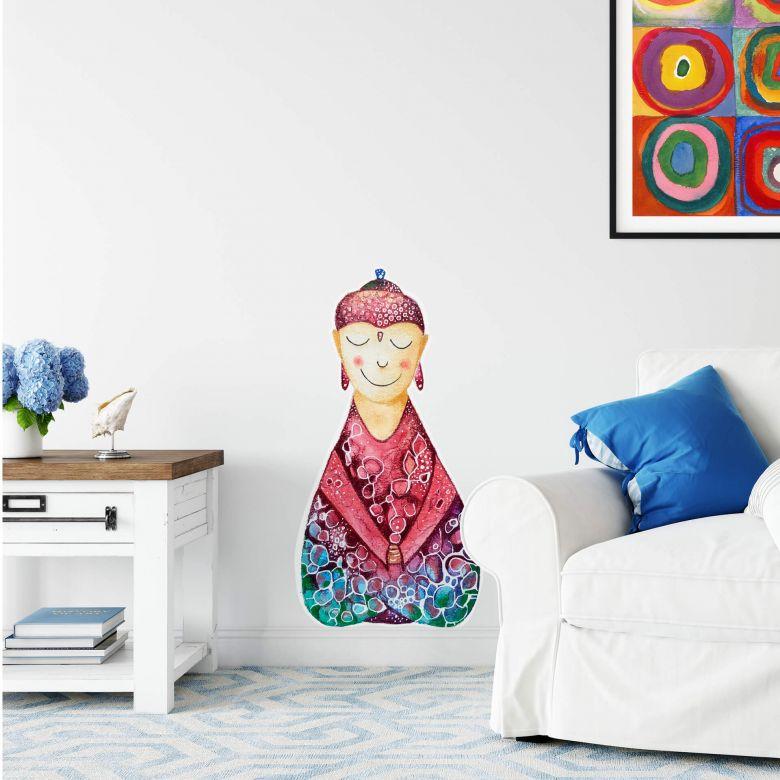 Wall sticker Hagenmeyer - Happy Buddha