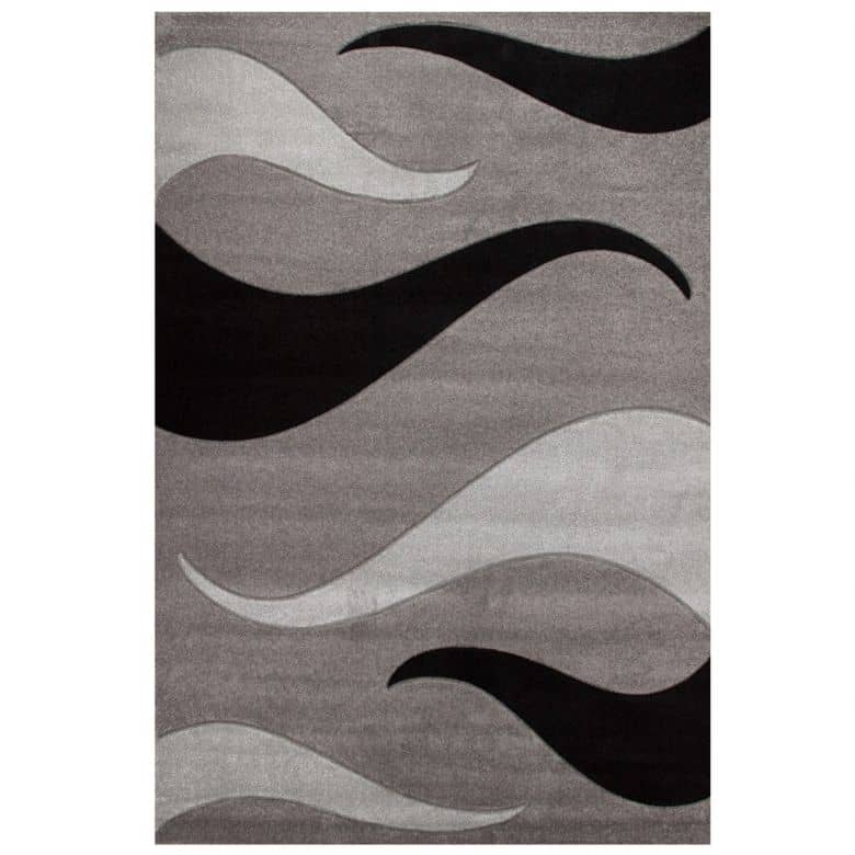 Design-Teppich Netherlands - Amsterdam Silber 200cm x 290cm