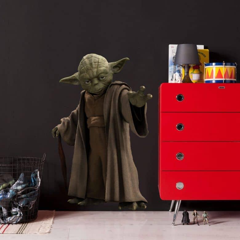 Sticker mural- Star Wars Yoda