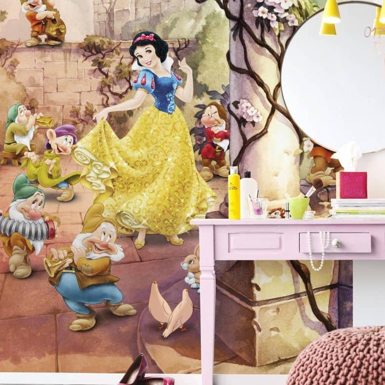 Fotomurale – Biancaneve e i sette nani