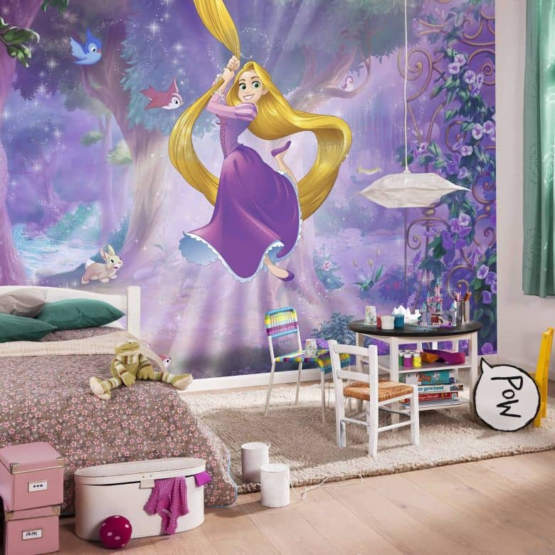 Fotomurale Disney Rapunzel