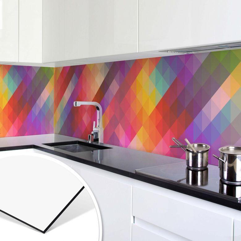Küchenrückwand - Alu-Dibond - Graphic Pattern