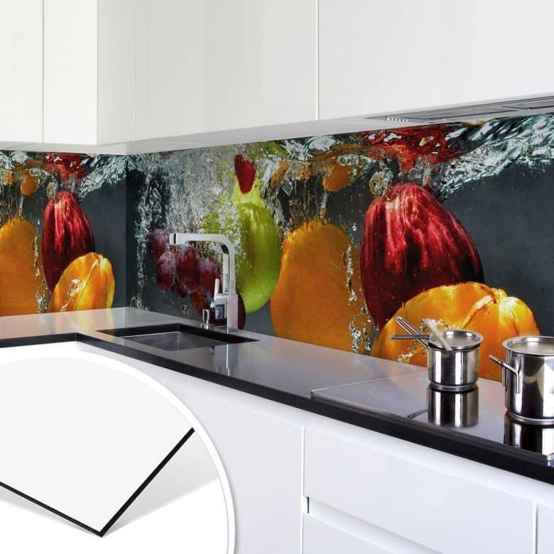 Küchenrückwand - Alu-Dibond - Erfrischendes Obst