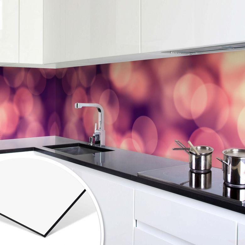 Revêtement pour cuisine - Alu-Dibond Effet de lumière 01