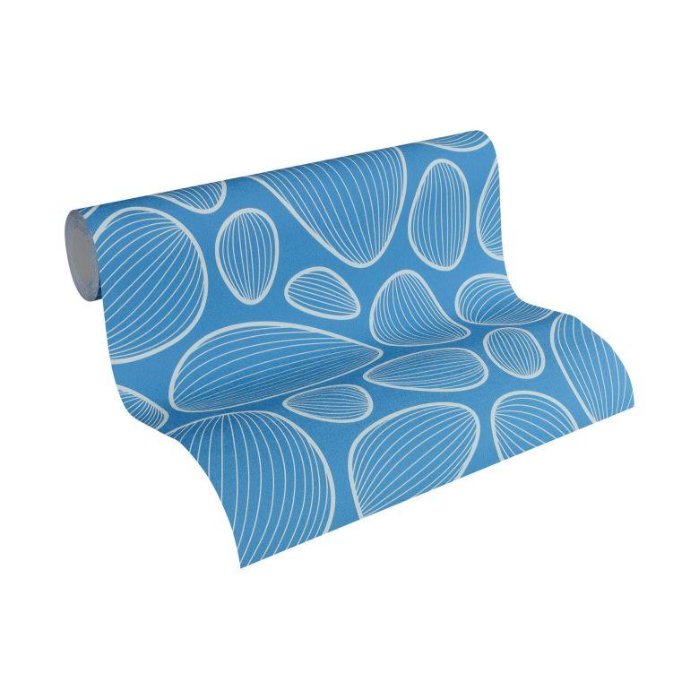 colourcourage® Tapete Artist Edition No. 1 Vilde Strand blau, beige by Lars Contzen