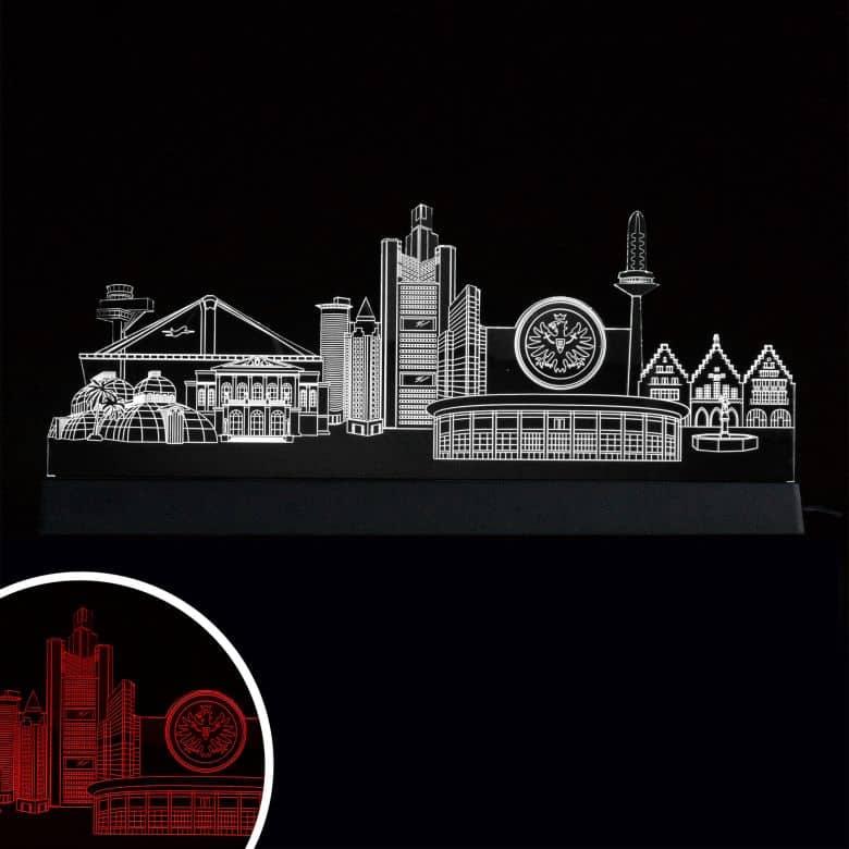 LED Skyline Eintracht Frankfurt