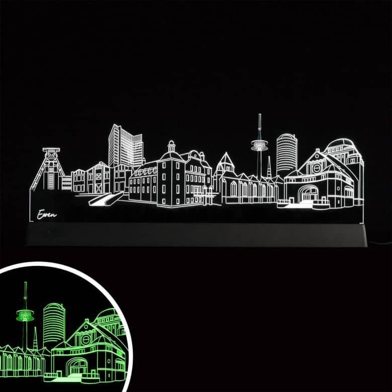 LED Skyline Essen