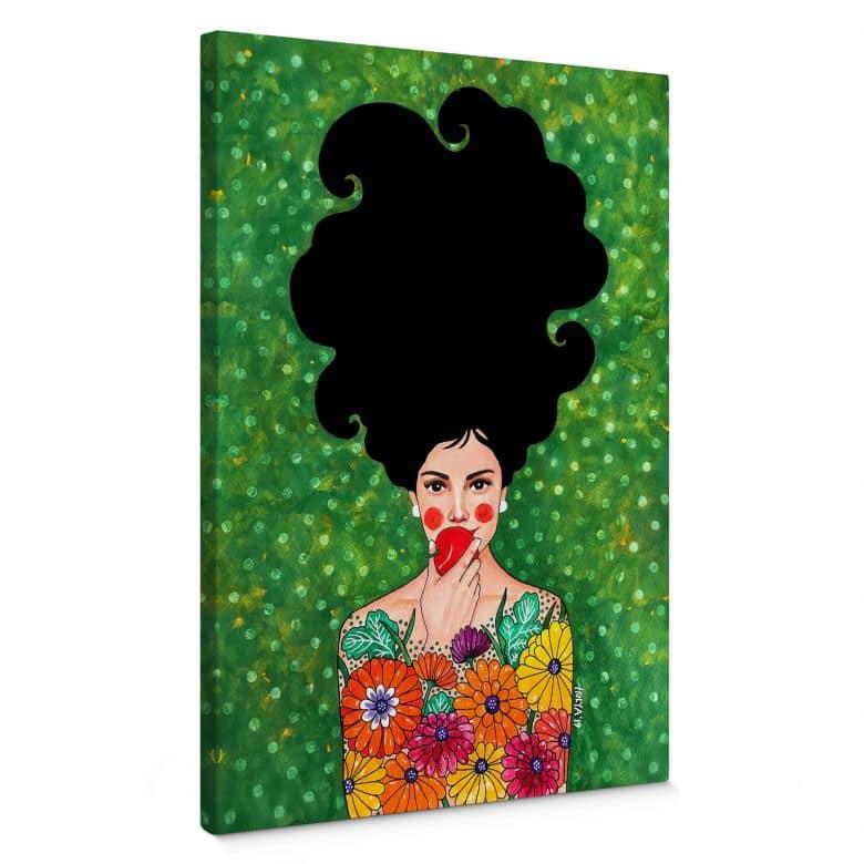 Canvas Hülya - the Red Apple