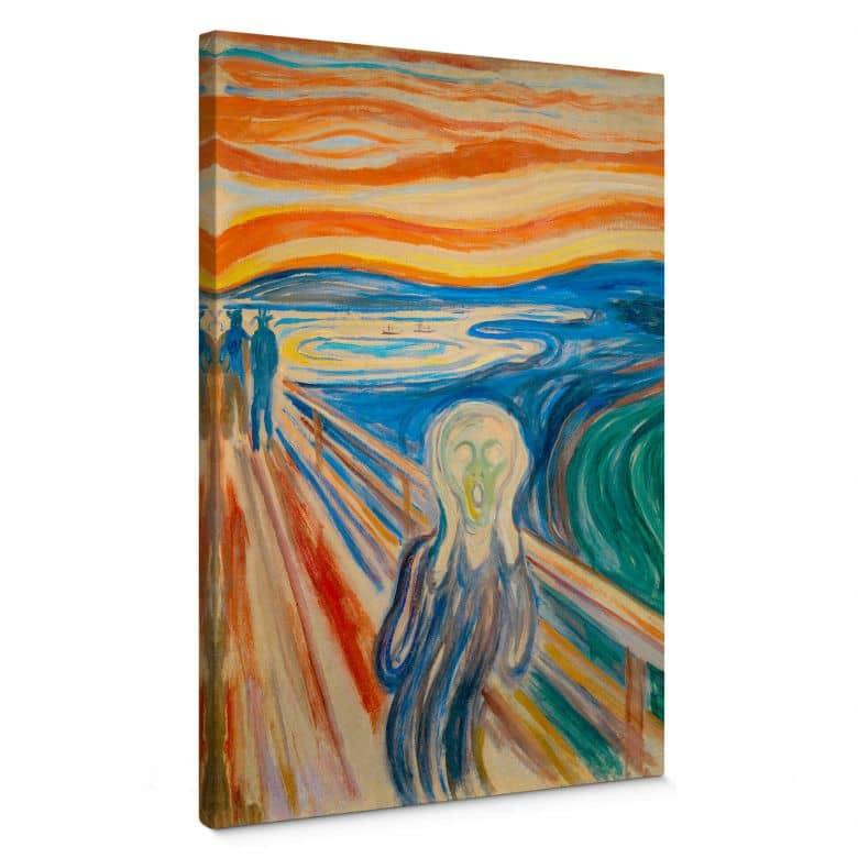 Canvas Munch - de Schreeuw