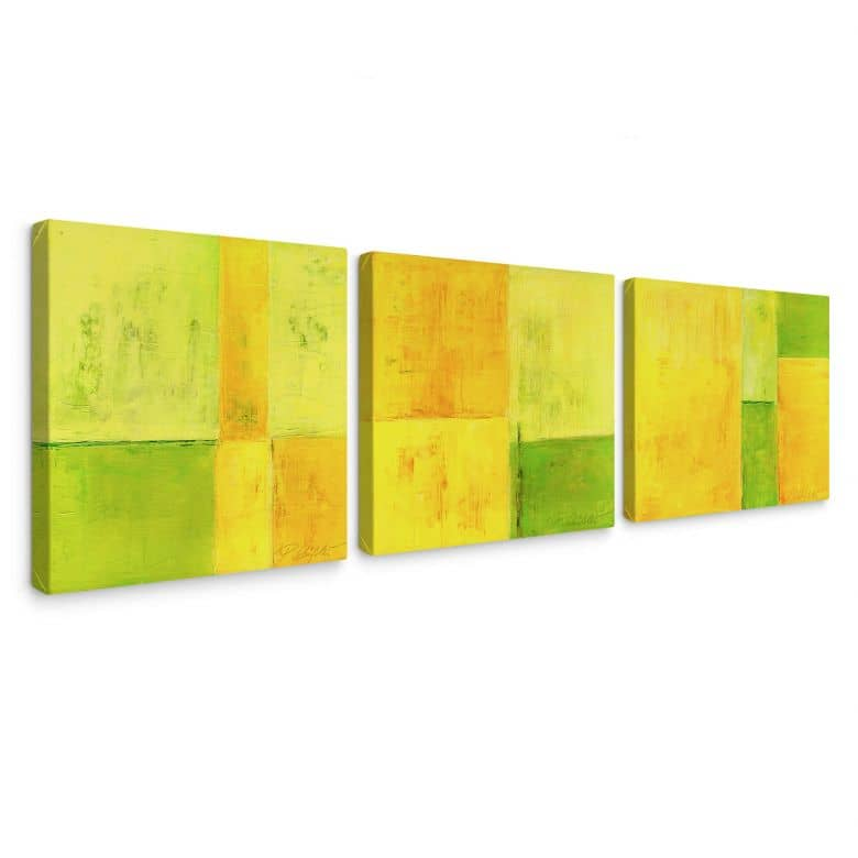 Tableau sur toile - Schüßler - Spring Composition (tryptique)