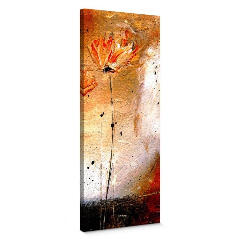 Tableau sur toile Niksic - Fleur princesse - Panorama