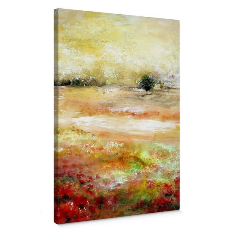 Canvas Melz - Een dag in de zomer