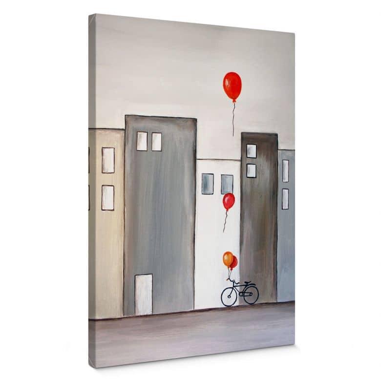 Melz - Balloon Merchant Canvas print