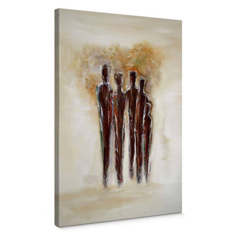 Melz - Together Canvas print