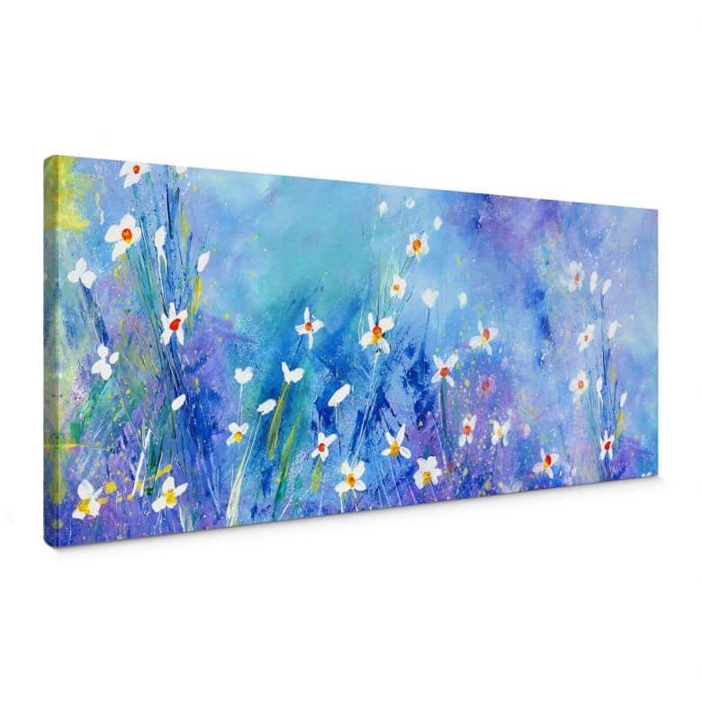 Leinwandbild Niksic - Ein Sommer in Blau