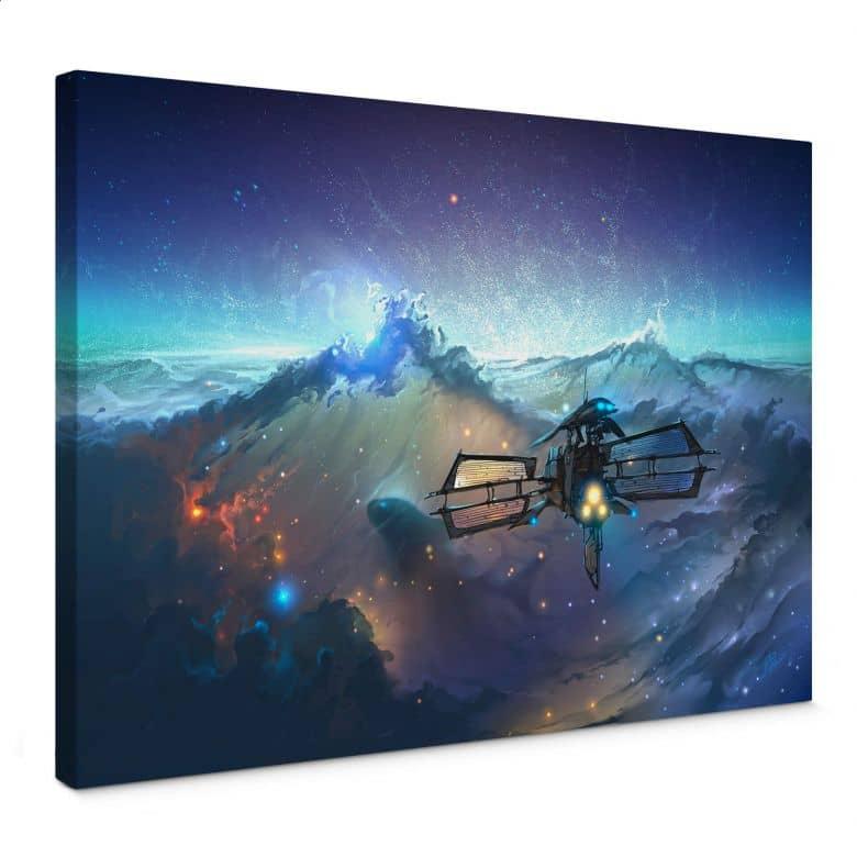 Leinwandbild aerroscape - Die See des Weltraums