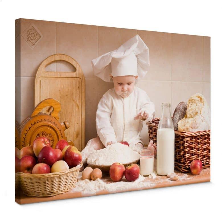Tableau sur toile - Chef Pâtissier