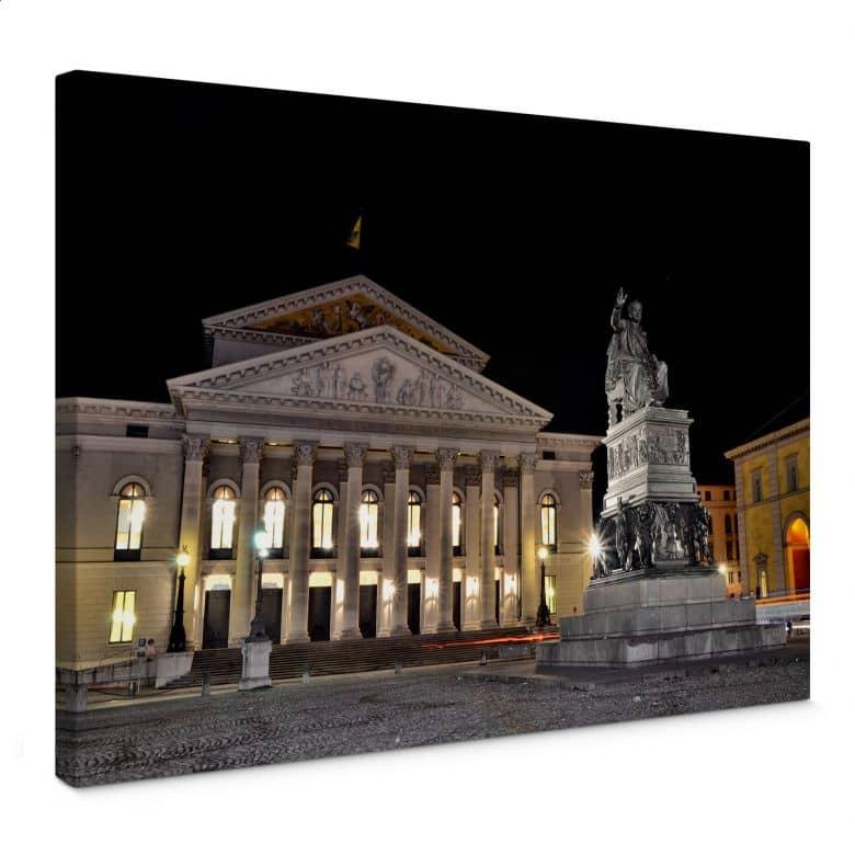 Leinwandbild Bayerische Staatsoper München