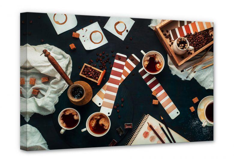 Leinwand Belenko - Shades of Coffee