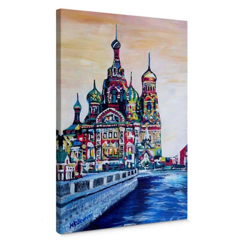 Leinwandbild Bleichner - St. Petersburg