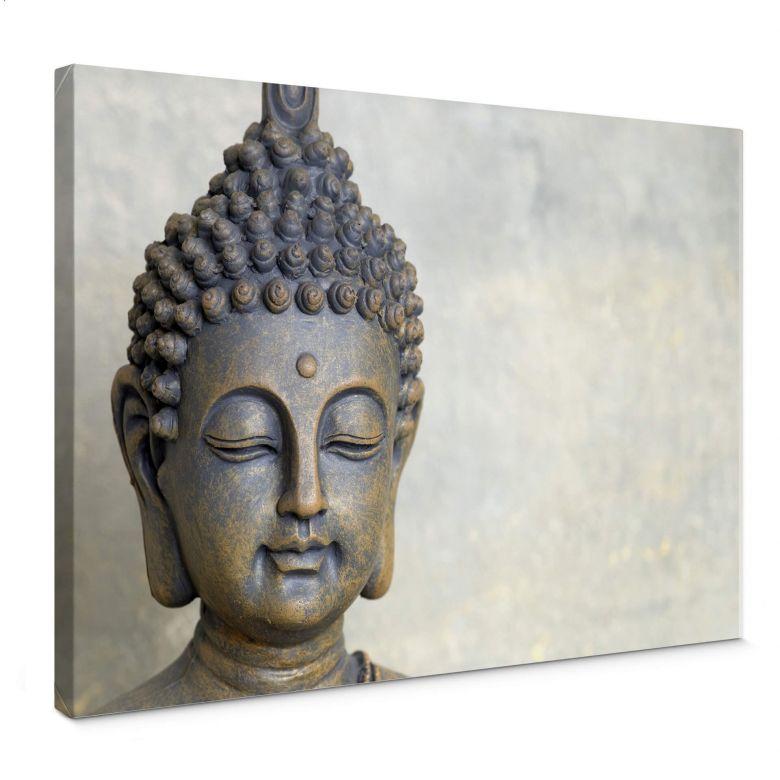 Buddha\'s Face Canvas print