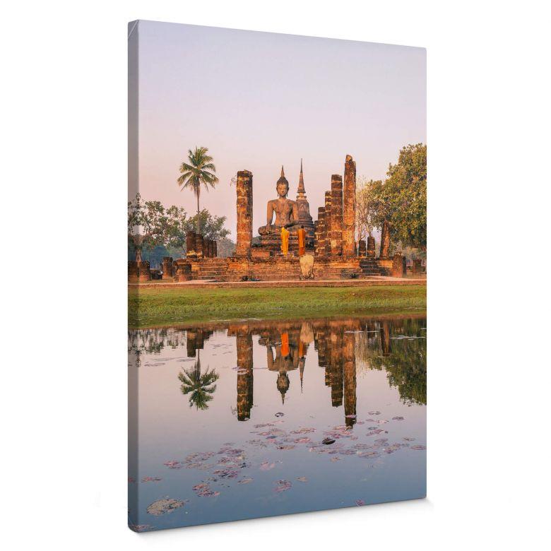 Leinwandbild Colombo - Buddhistischer Tempel Sukhothai