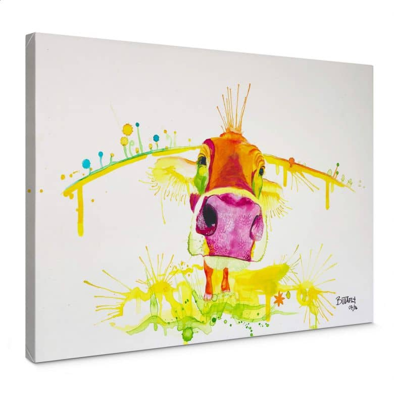 Leinwandbild Buttafly - Crazy Calf