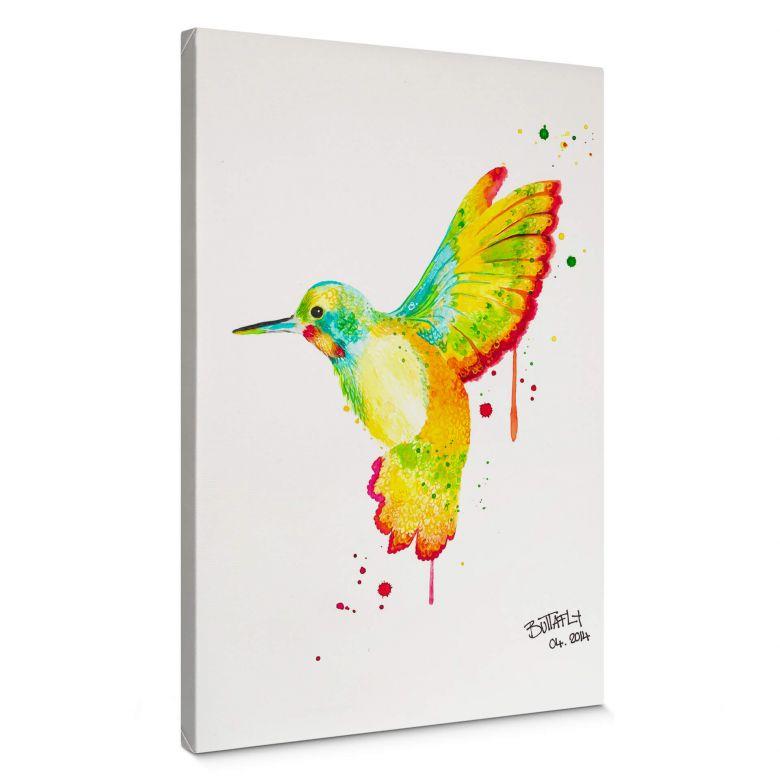 Leinwandbild Buttafly - Kolibri