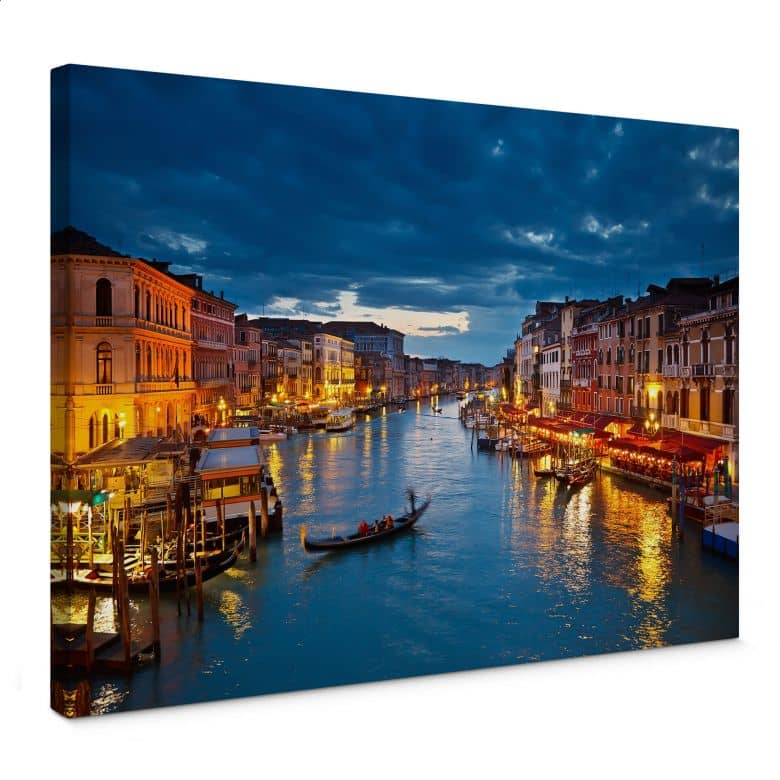 Canal Grande In Venice Canvas Print Wall Art Com
